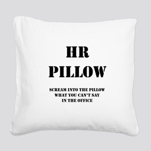 HR Pillo Square Canvas Pillow