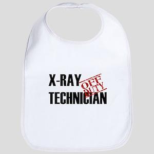 Off Duty X-Ray Technician Bib