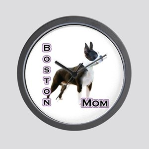 Boston Mom4 Wall Clock