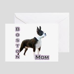 Boston Mom4 Greeting Card