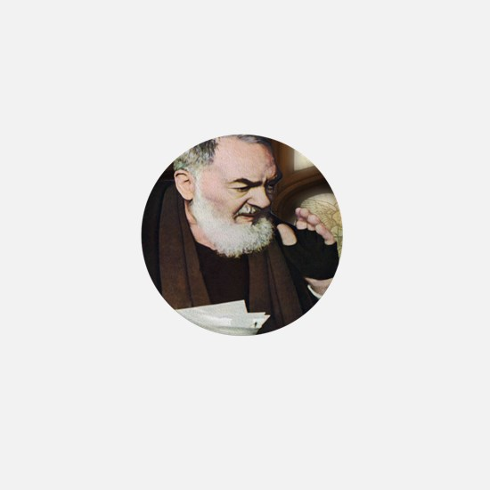 Saint Pio of Pietrelcina (Style B) Mini Button
