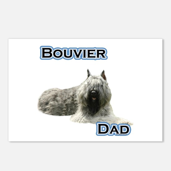 Bouvier Dad4 Postcards (Package of 8)