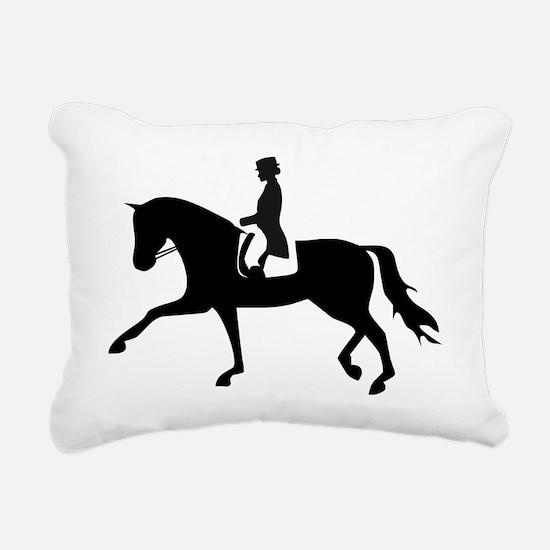 Cute Horseback riding Rectangular Canvas Pillow