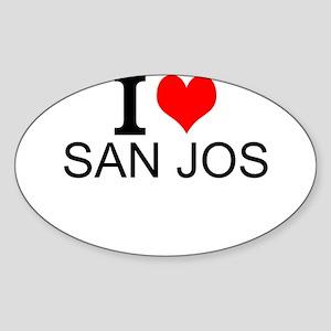 I Love San Jose Sticker