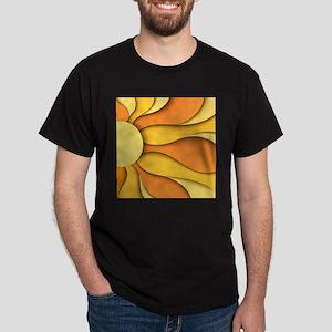 Abstract Sun Dark T-Shirt