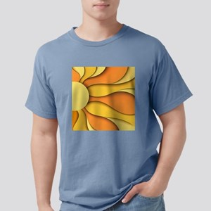 Abstract Sun Mens Comfort Colors Shirt