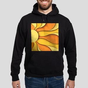 Abstract Sun Hoodie (dark)