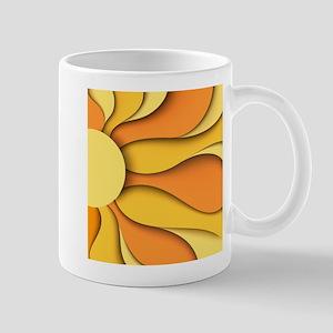 Abstract Sun 11 oz Ceramic Mug