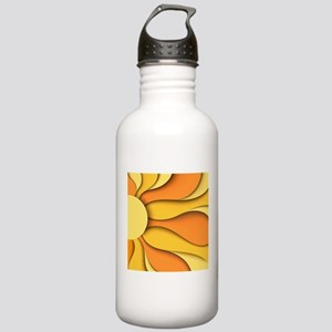 Abstract Sun Stainless Water Bottle 1.0L