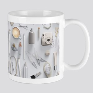 White Vanity Table Mug