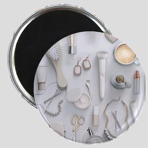 White Vanity Table Magnet