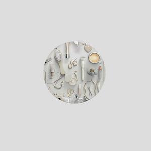 White Vanity Table Mini Button