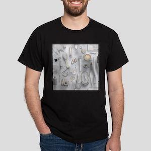 White Vanity Table Dark T-Shirt