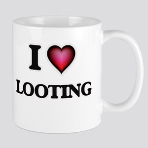 I Love Looting Mugs