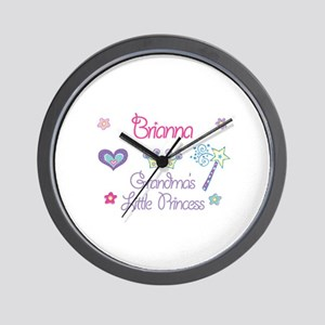 Brianna - Grandma's Little Pr Wall Clock