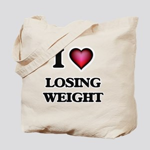 I Love Losing Weight Tote Bag