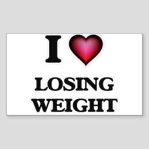 I Love Losing Weight Sticker
