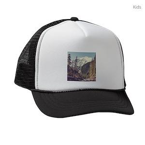 Camping Kids Trucker Hats - CafePress 04ada4355854