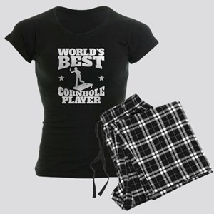 Worlds Best Cornhole Player Pajamas