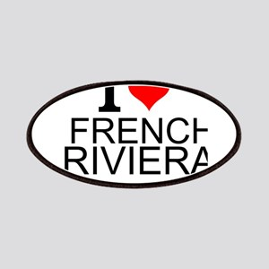 I Love French Riviera Patch