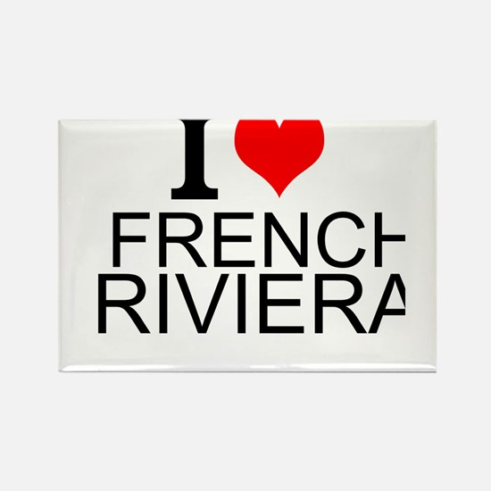 I Love French Riviera Magnets