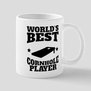 Worlds Best Cornhole Player Mugs
