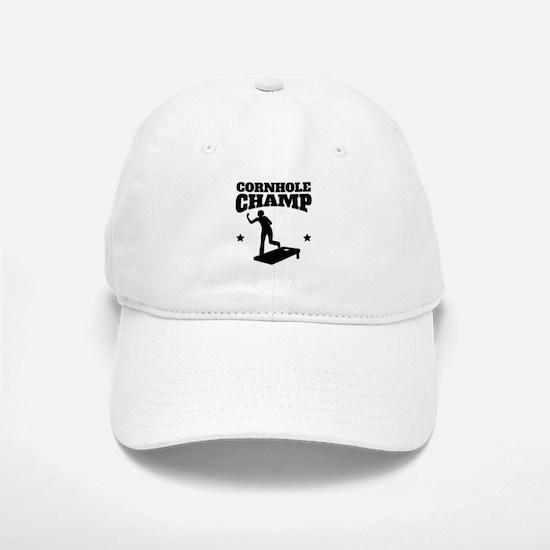 Cornhole Champ Baseball Baseball Baseball Cap