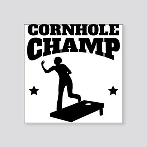 Cornhole Champ Sticker