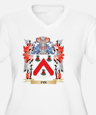 Foi Coat of Arms - Family Crest Plus Size T-Shirt