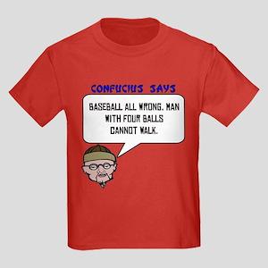 Man with four balls Kids Dark T-Shirt