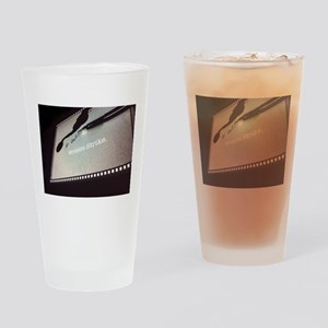 WS Screen Drinking Glass