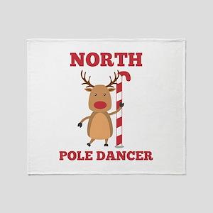 North Pole Dancer Stadium Blanket