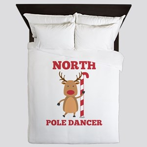 North Pole Dancer Queen Duvet