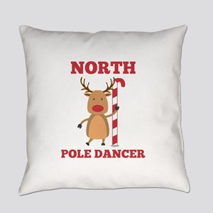 North Pole Dancer Everyday Pillow