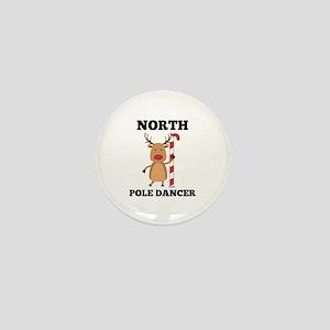North Pole Dancer Mini Button