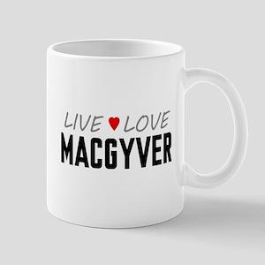 Live Love MacGyver Mug