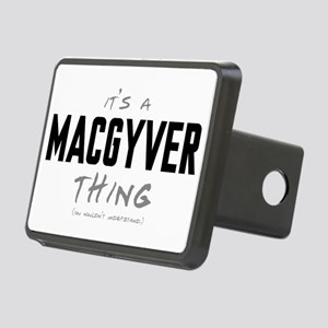 It's a MacGyver Thing Rectangular Hitch Cover