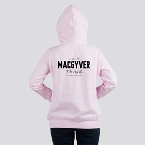 It's a MacGyver Thing Women's Hooded Sweatshirt