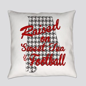 Sweet Tea, football and houndstooth Everyday Pillo