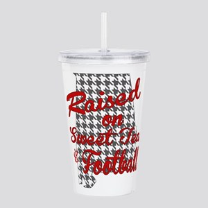 Sweet Tea, football and houndstooth Acrylic Double