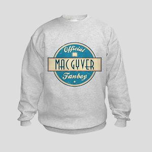 Official MacGyver Fanboy Kids Sweatshirt