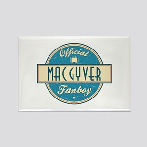Official MacGyver Fanboy Rectangle Magnet