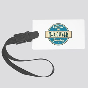 Official MacGyver Fanboy Large Luggage Tag