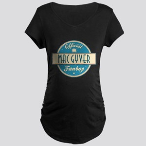Official MacGyver Fanboy Dark Maternity T-Shirt