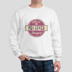 Official MacGyver Fangirl Sweatshirt
