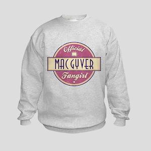 Official MacGyver Fangirl Kids Sweatshirt