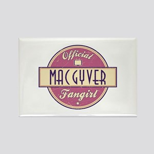 Official MacGyver Fangirl Rectangle Magnet