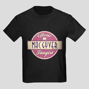 Official MacGyver Fangirl Kids Dark T-Shirt