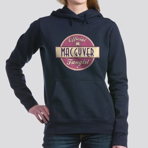 Official MacGyver Fangirl Woman's Hooded Sweatshir