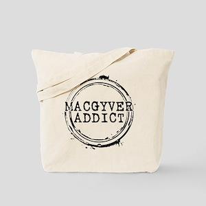 MacGyver Addict Stamp Tote Bag